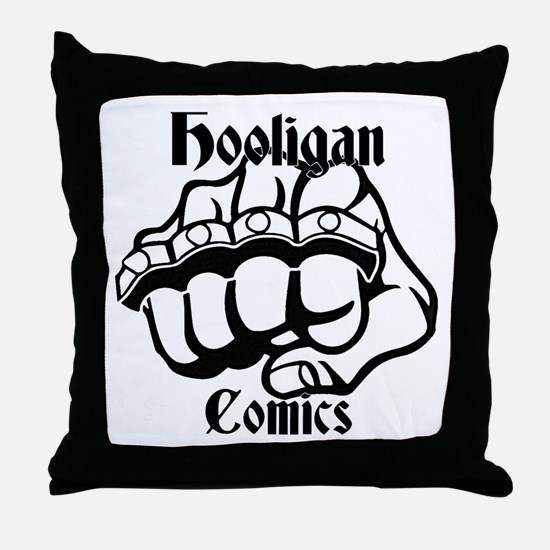Hooligans Logo 1 Throw Pillow