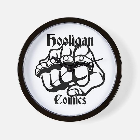 Hooligans Logo 1 Wall Clock