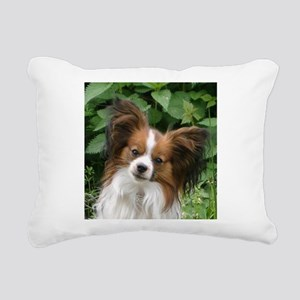 papillon Rectangular Canvas Pillow