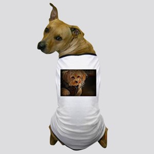 Copper with coat Dog T-Shirt