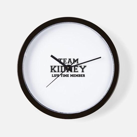 Team KIDNEY, life time member Wall Clock