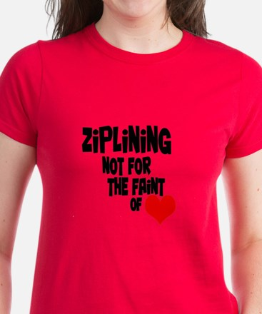 Ziplining Women's Dark T-Shirt