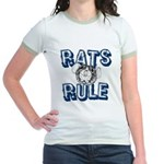 Rats Rule Jr. Ringer T-Shirt