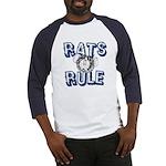 Rats Rule Baseball Jersey