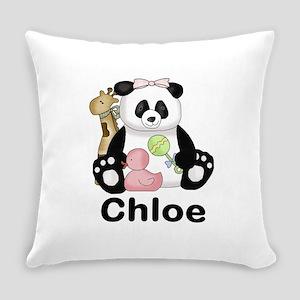 Chloe's Panda Everyday Pillow