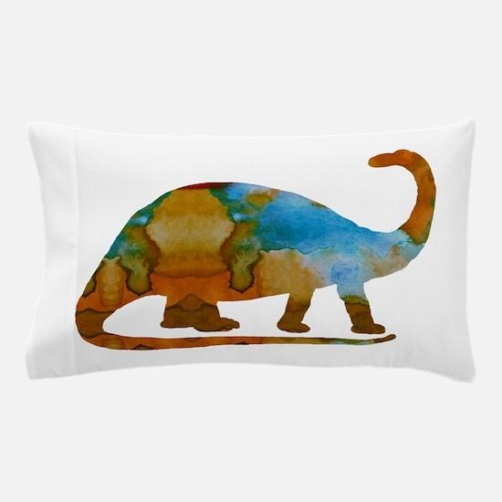 Brontosaurus Pillow Case