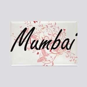 Mumbai India City Artistic design with but Magnets