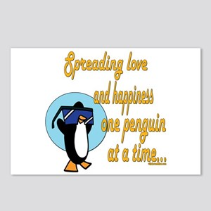 Spreading Love Penguins Postcards (Package of 8)