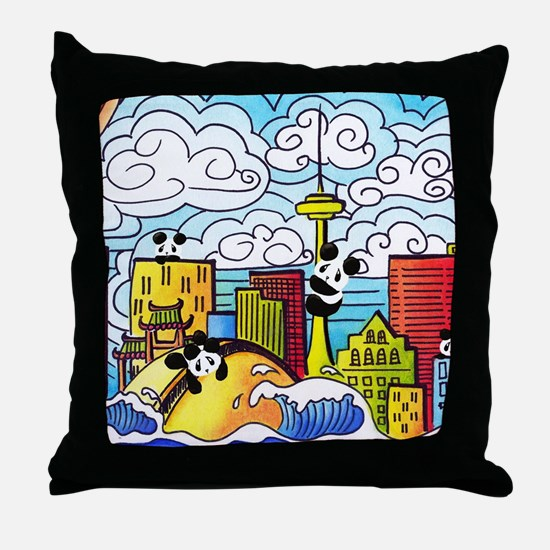 Cute Toronto Throw Pillow