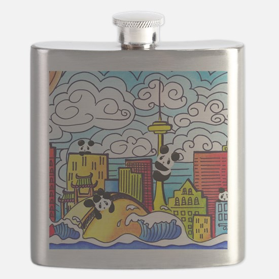 Cute Toronto Flask