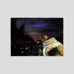 Firefly Sky 5'x7'Area Rug