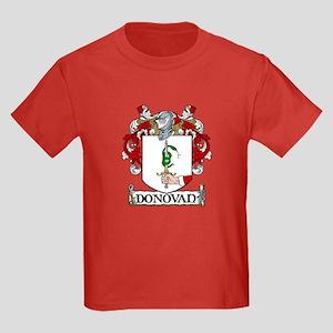 Donovan Coat of Arms Kids Dark T-Shirt