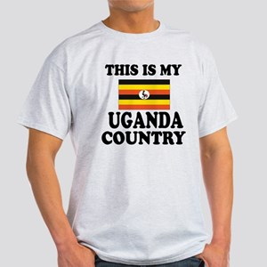 This Is My Uganda Country Light T-Shirt
