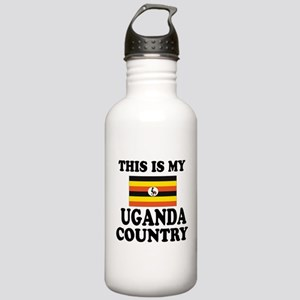 This Is My Uganda Coun Stainless Water Bottle 1.0L