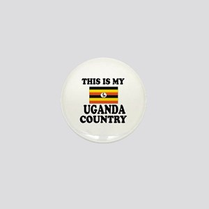 This Is My Uganda Country Mini Button