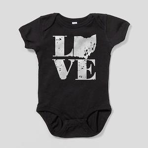 Love Ohio Baby Bodysuit