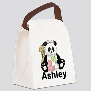 Ashley's Panda Canvas Lunch Bag