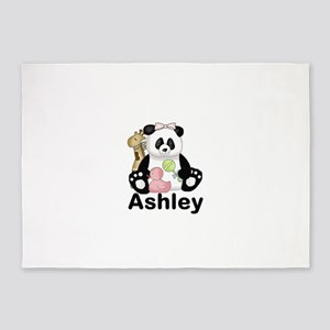 Ashley's Panda 5'x7'Area Rug