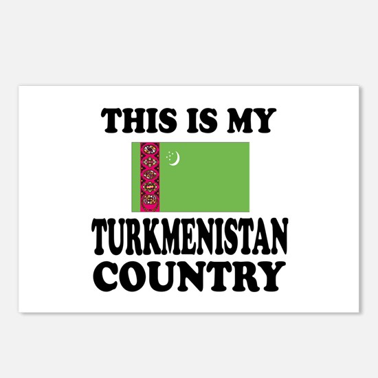 This Is My Turkmenistan C Postcards (Package of 8)