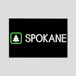 Spokane, Washington Rectangle Magnet