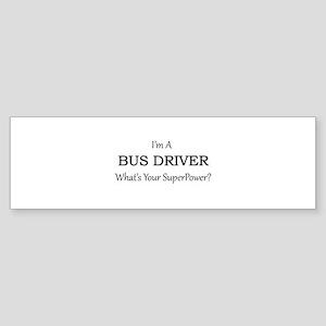 Bus Driver Bumper Sticker