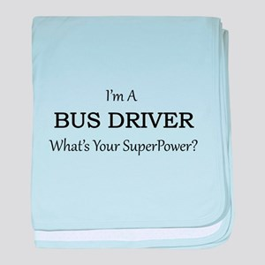Bus Driver baby blanket