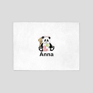 Anna's Panda 5'x7'Area Rug