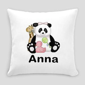 Anna's Panda Everyday Pillow