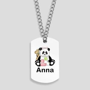 Anna's Panda Dog Tags