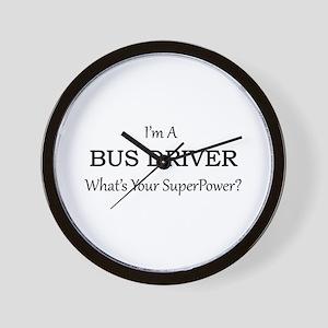 Bus Driver Wall Clock