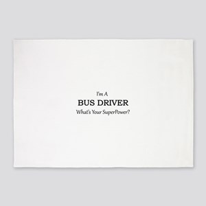 Bus Driver 5'x7'Area Rug
