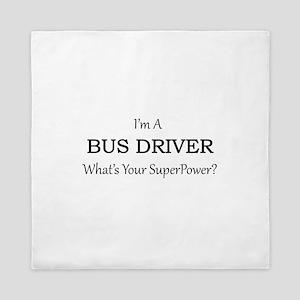 Bus Driver Queen Duvet