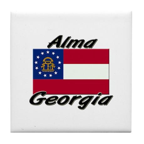 Alma Georgia Tile Coaster