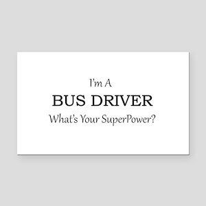 Bus Driver Rectangle Car Magnet