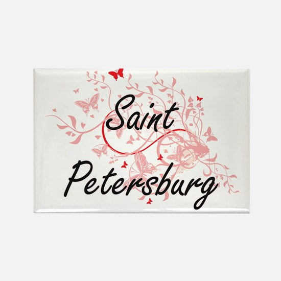 Saint Petersburg Russia City Artistic desi Magnets