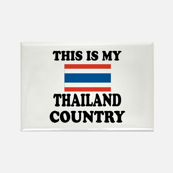 This Is My Thailand Country Rectangle Magnet