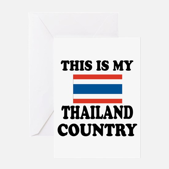 This Is My Thailand Country Greeting Card