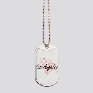 Los Angeles United States City Artistic d Dog Tags