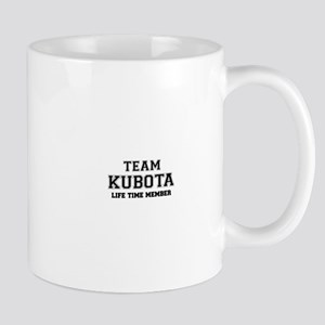 Team KUBOTA, life time member Mugs