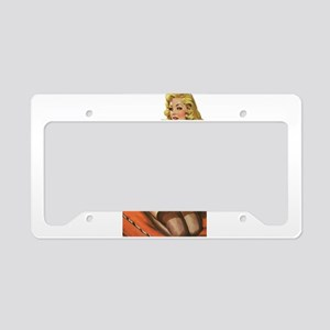 pinup118 License Plate Holder