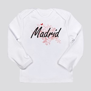 Madrid Spain City Artistic des Long Sleeve T-Shirt