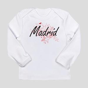 Madrid Spain City Artistic des Long Sleeve T-Shirt