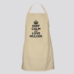 Keep Calm and Love MULDER Apron