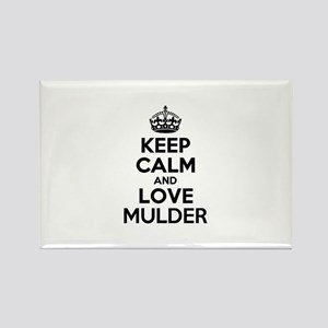 Keep Calm and Love MULDER Magnets
