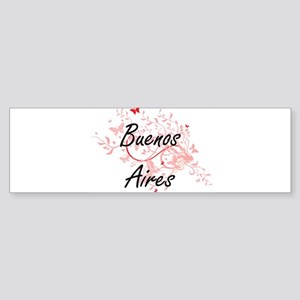 Buenos Aires Argentina City Artisti Bumper Sticker