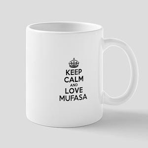 Keep Calm and Love MUFASA Mugs