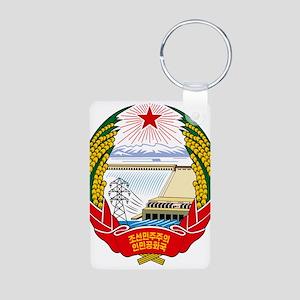 Emblem of North Korea (DPRK) Keychains