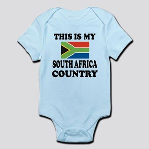 This Is My South Africa Country Infant Bodysuit