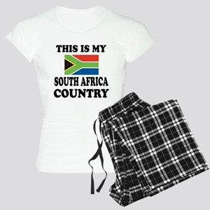 This Is My South Africa Cou Women's Light Pajamas