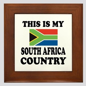 This Is My South Africa Country Framed Tile